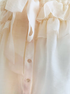 sheer classical blouse[SH-99]