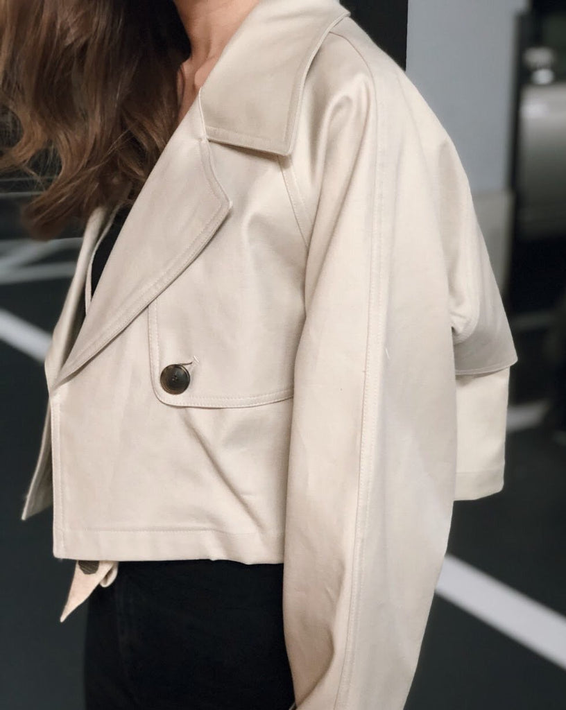 Short trench coat [SH-109]