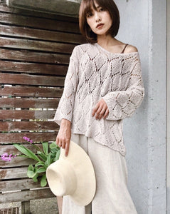 V-neck summerknit p/o[SH-106]