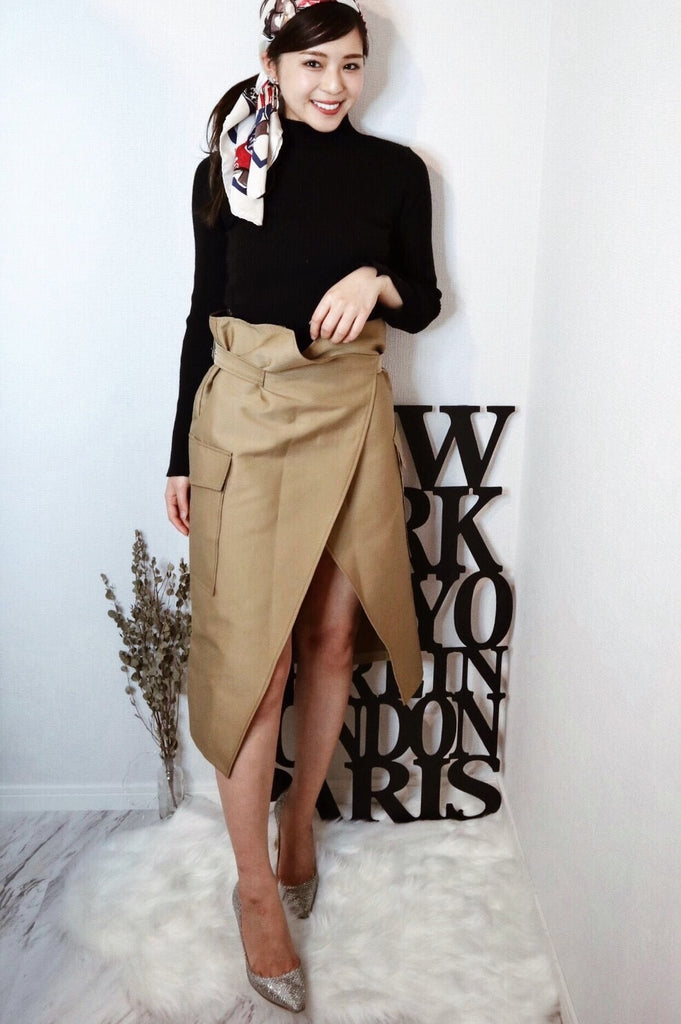 Wrap design skirt [SH-62]