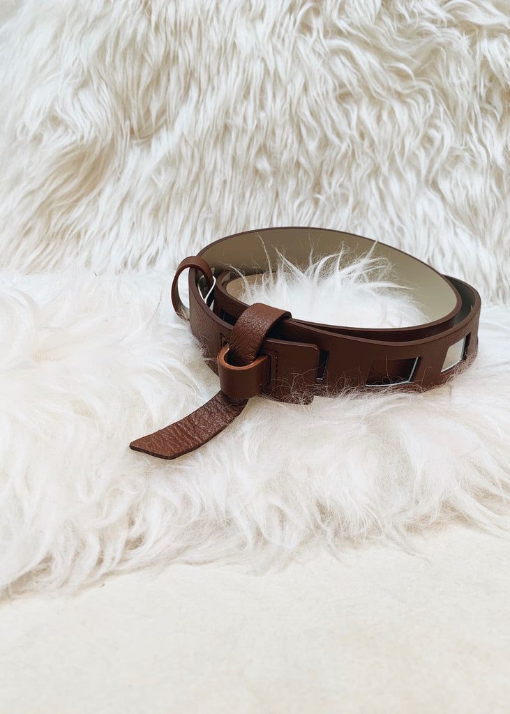 Square buckle belt [SH-216]