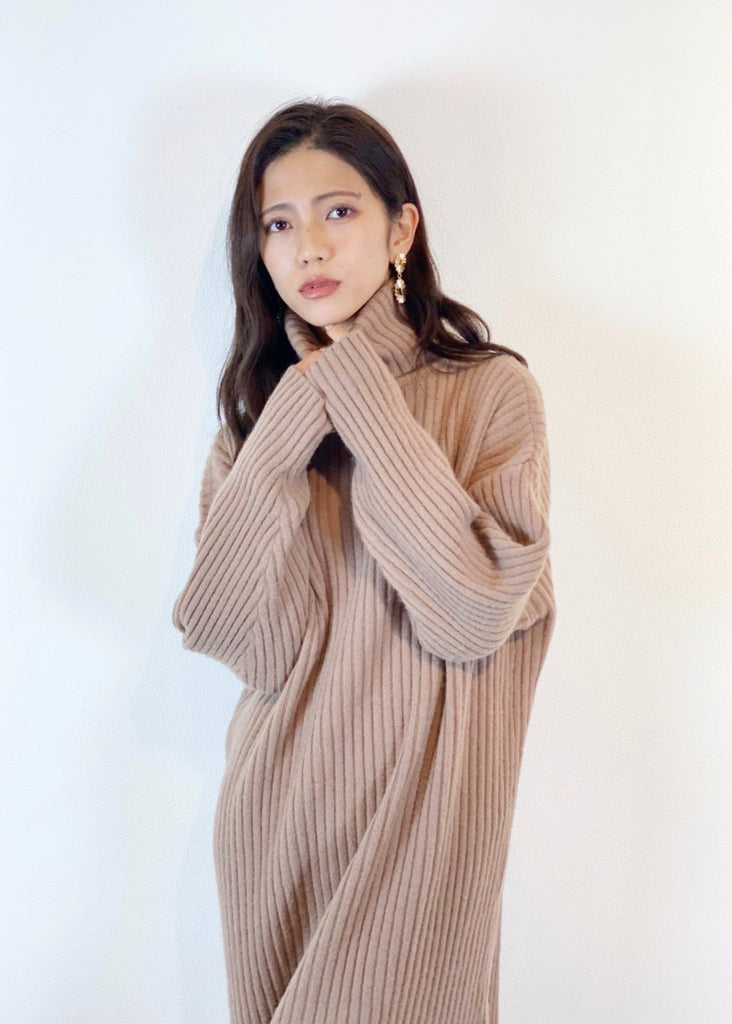 Turtle knit one piece