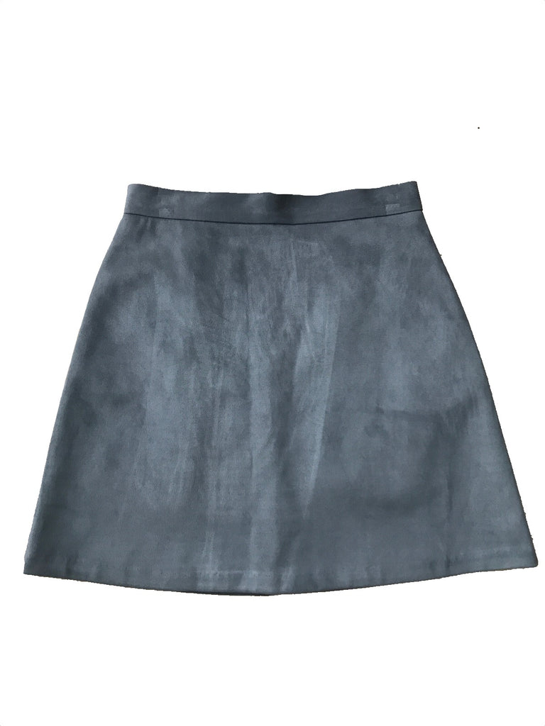 Suede mini-skirt [SH-43]