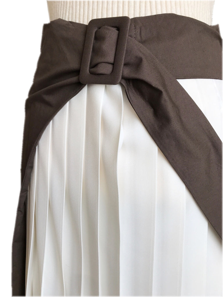 Pleats docking skirt