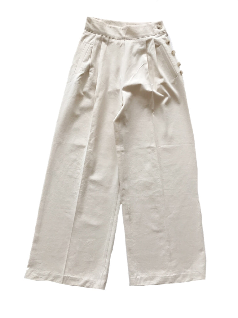 Centerpress wide pants