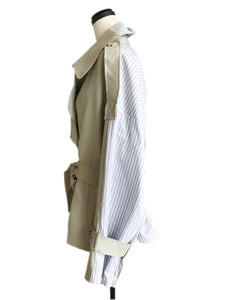 docking short trench coat [MR-07]