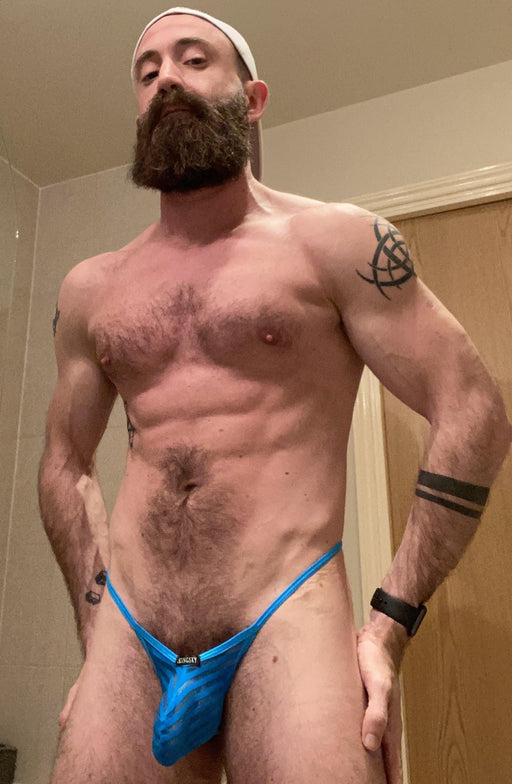 Hot Hairy Hunk Daddy on Onlyfans Bearded CJ