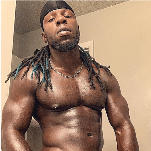 Big Black Muscle Hung Krave Stephan Greving @itsmeyoukraving