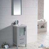 "Sydney 18"" Vanity Set with Mirror"