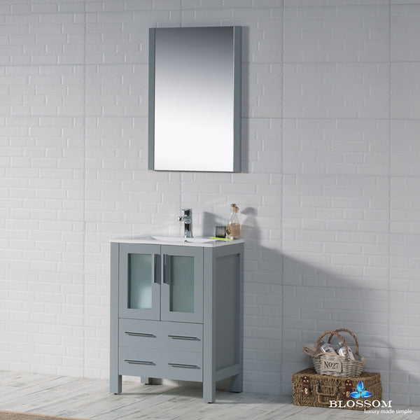 "Sydney 24"" Vanity Set with Mirror"