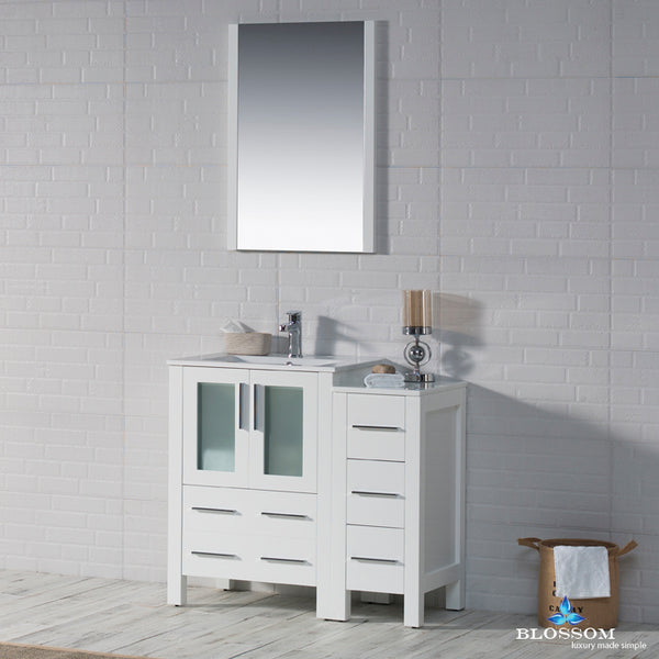 "Sydney 36"" Vanity Set with Side Cabinet"