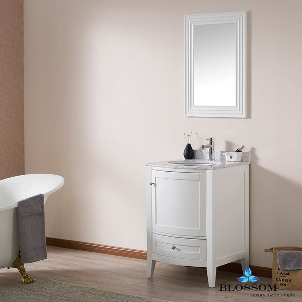 "Rome 24"" Vanity Set with Mirror"