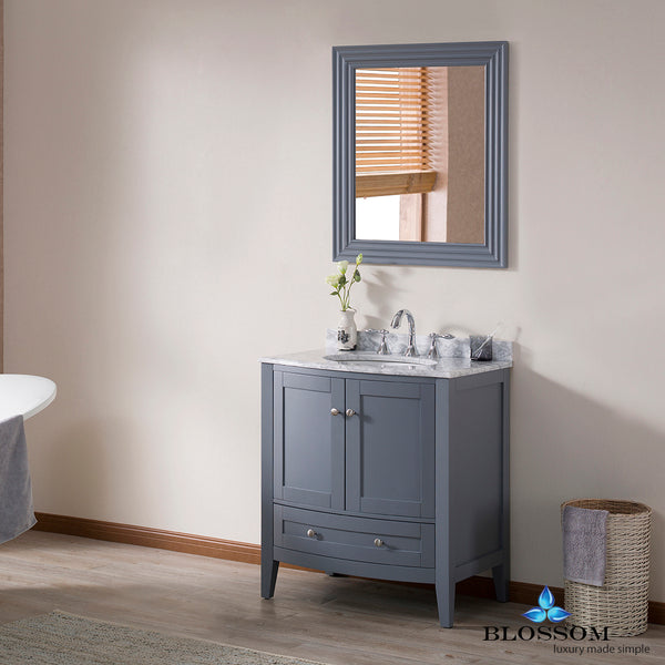 "Rome 30"" Vanity Set with Mirror"