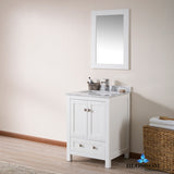 "Dubai 24"" Vanity Set with Mirror"