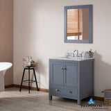 "Dubai 30"" Vanity Set with Mirror"