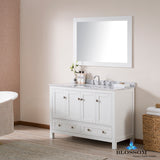"Dubai 48"" Vanity Set with Mirror"