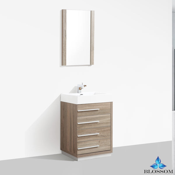 "Barcelona 24"" Vanity Set with Mirror"