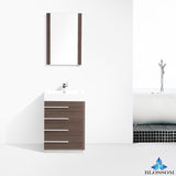 "Barcelona 30"" Vanity Set with Mirror"