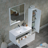 "Paris 36"" Vanity Set with Side Cabinet"