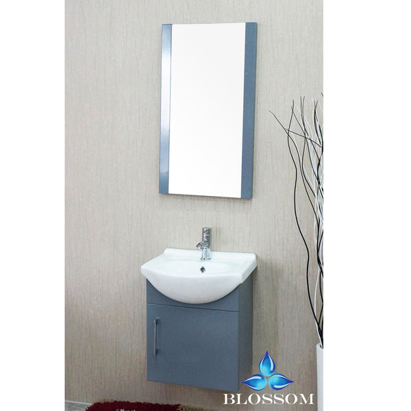 "Naples 18"" Vanity Set with Mirror"