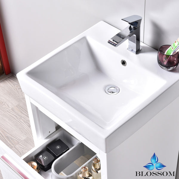 "Milan 20"" Vanity Set with Medicine Cabinet"