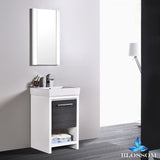 "Milan 20"" Vanity Set with Mirror"