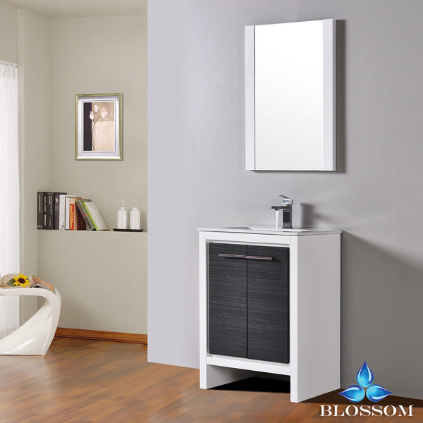 "Milan 24"" Vanity Set with Mirror"