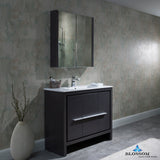 "Milan 36"" Vanity Set with Medicine Cabinet"