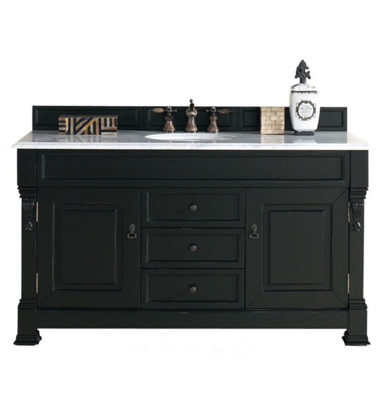 "Brookfield 60"" Single Cabinet, Antique Black"