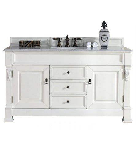 "Brookfield 60"" Single Cabinet, Cottage White"