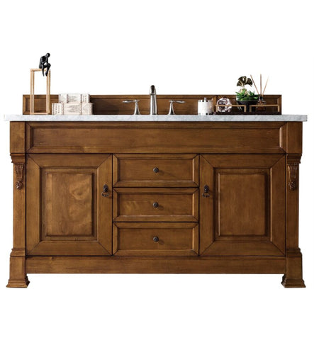 "Brookfield 60"" Single Cabinet, Country Oak"
