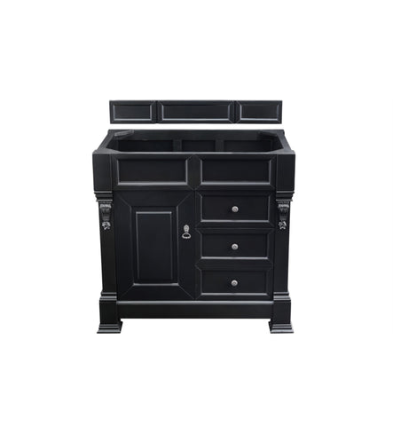 "Brookfield 36"" Single Cabinet w/ Drawers, Antique Black"