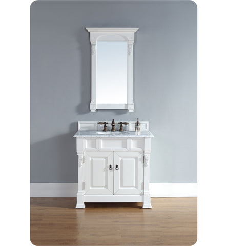 "Brookfield 36"" Single Cabinet, Cottage White"