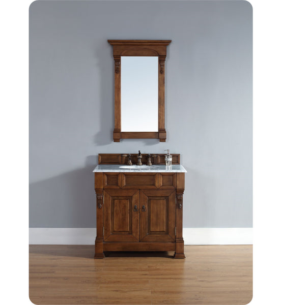 "Brookfield 36"" Single Cabinet, Country Oak"