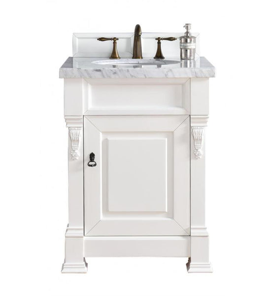 "Brookfield 26"" Single Cabinet, Cottage White"