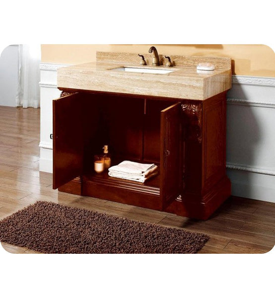 "Newport 42"" Single Vanity, Cherry"