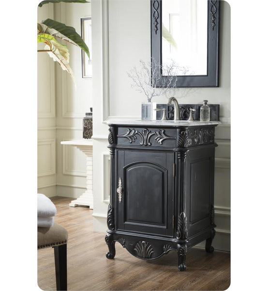 "St. James 24"" Single Vanity, Cherry"