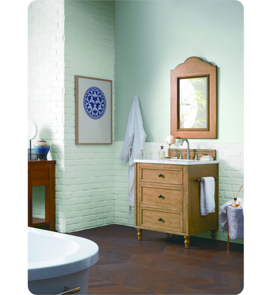 "Copper Cove 26"" Single Vanity Cabinet, Copper Cover"