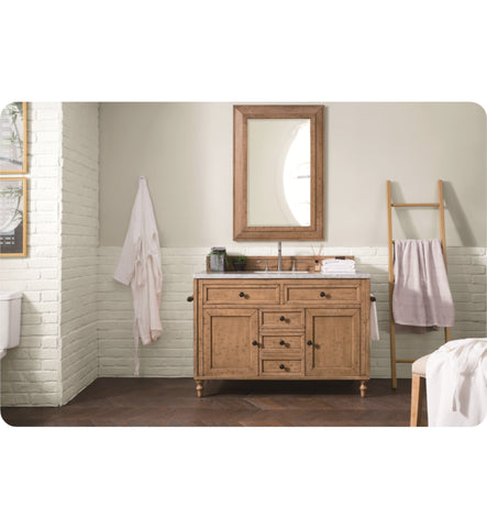 "Copper Cove 48"" Single Vanity Cabinet, Copper Cover"