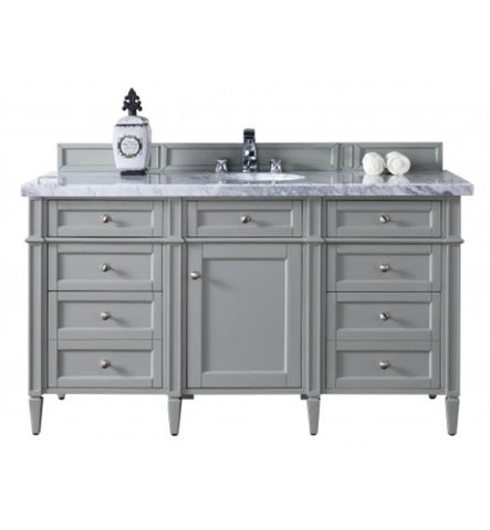 "Brittany 60"" Single Cabinet, Urban Gray"