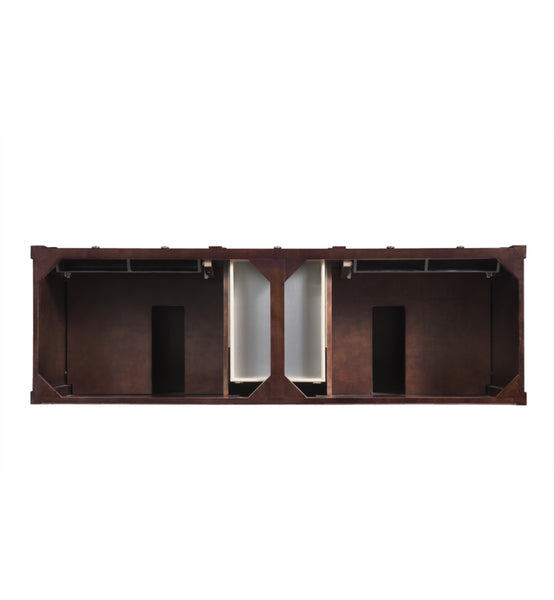 "Brittany 72"" Double Cabinet, Burnished Mahogany"