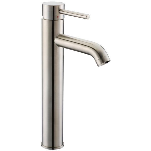 Dawn? Single-lever tall lavatory faucet, Brushed Nickel