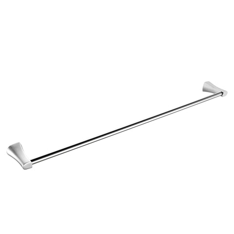 "24"" Single Towel Bar - Chrome"