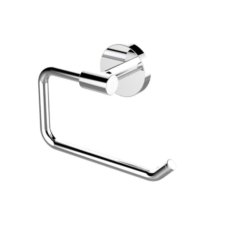 Eviva Round Holdy Toilet Paper Or Towel Holder (Chrome) Bathroom Accessories