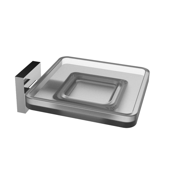Eviva Plater? Glass Soap Holder Wall Mount (Chrome)