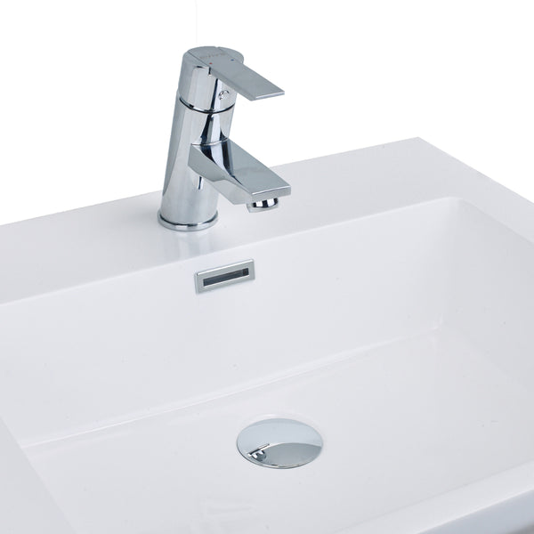 EVIVA Midtown? Single Handle (Lever) Bathroom Sink Faucet (Chrome)