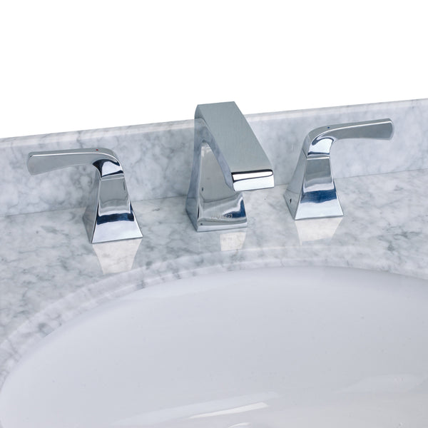 EVIVA Butterfly? Widespread (2 Handles) Bathroom Faucet (Chrome)