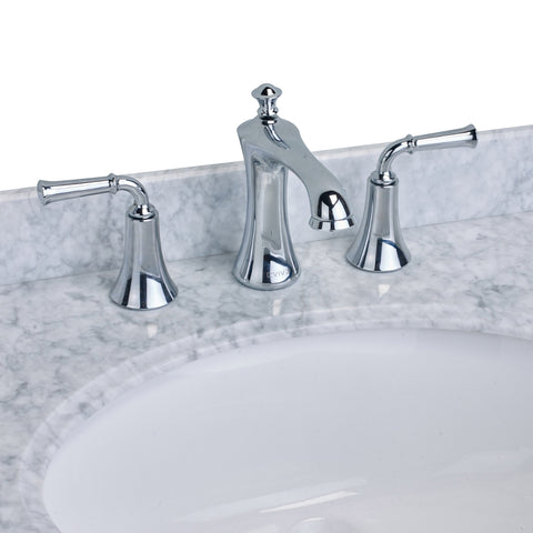 EVIVA Oceanbreeze? Widespread (2 Handles) Bathroom Faucet (Chrome)