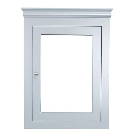 Eviva New York 24 inch Grey Wall Mount Medicine Cabinet