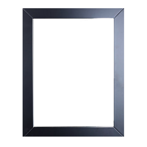 "Eviva Sun? 24"" Espresso Framed Bathroom Wall Mirror"